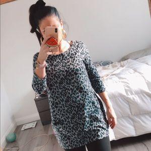 Jules + James Knit Sweater Dress w Pockets